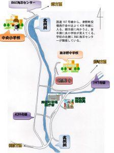 中央小案内図