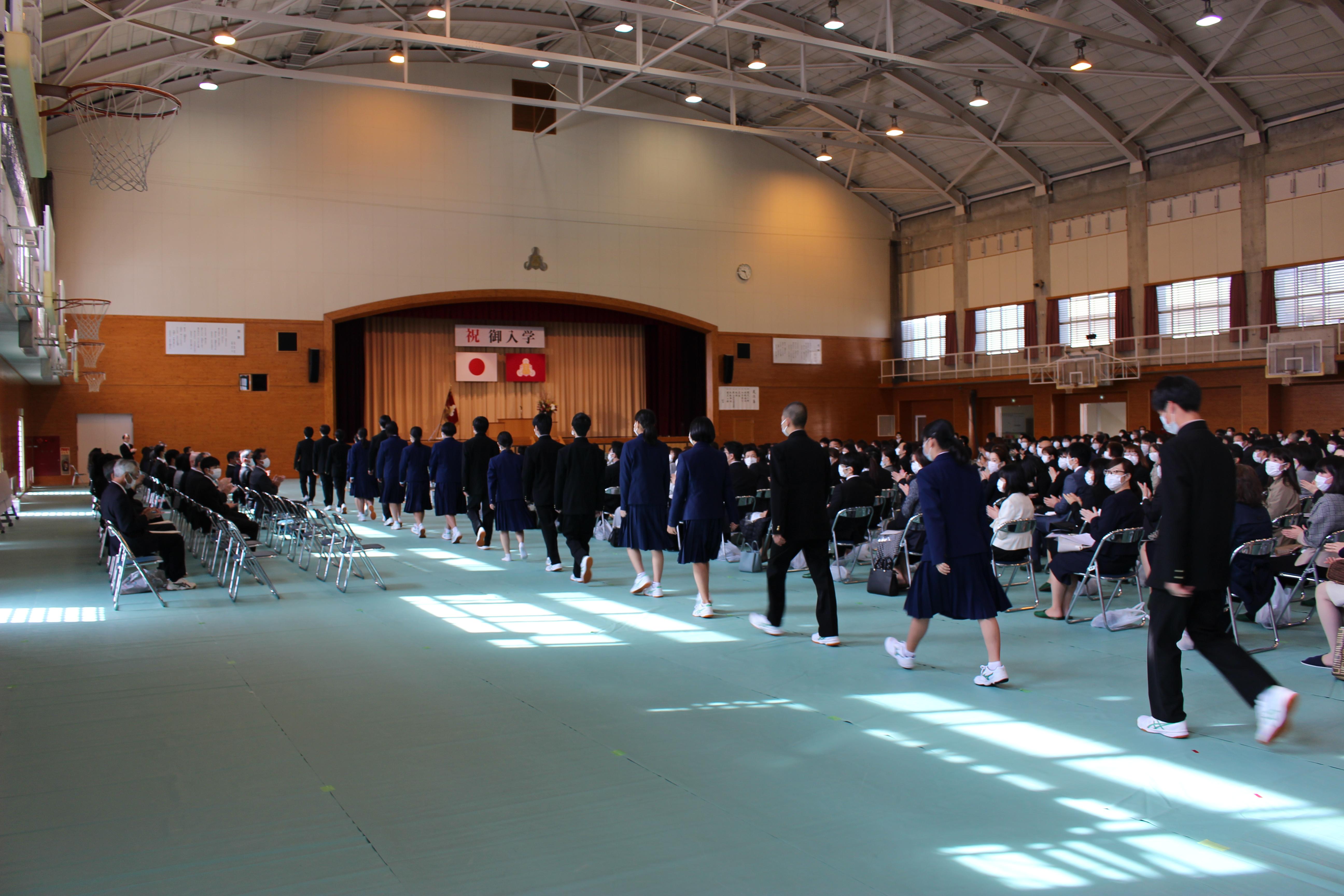 高校 式 公立 入学